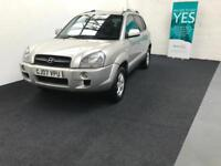 Hyundai Tucson 2.0CRTD ( 4WD ) Limited finance available