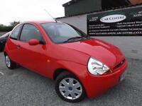 Ford Ka 1.3 1299cc 2004MY Collection petrol red