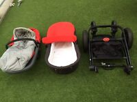 Mothercare Movix Pushchair & Carrycot for SALE