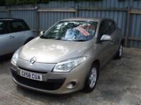 RENAULT MEGANE EXPRESSION VVT 2009 Petrol Manual in Beige