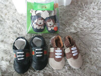 Shoes, Robbies, 0-6 month and 6-12 month, never used