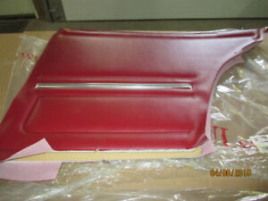 1967 Camaro door panels front and rear RED  $200