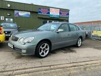 2001 Lexus GS430 4.3 V8, Rare, 300BHP, Long MOT, Cambelt done @ 110k, Drift