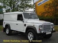 2011/ 61 Land Rover 110 Defender 2.4Tdci [ Mobile Workshop ] 4x4 Low Miles