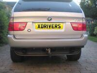 BMW X5 Detachable Towbar (Original Equipment) for all E53 2001-2006 Models