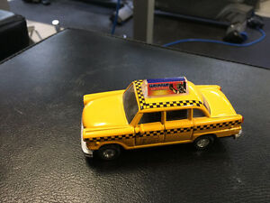 Yellow Cab 1:32 Scale Die Cast