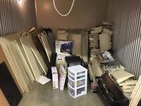 Moving shelving units