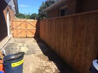 Professional fence and deck install! Fully licensed and insured