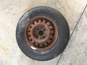 "13"" tire and rim for sale"