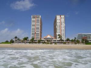 POMPANO BEACH (FLORIDA): OCEAN FRONT 2 BEDROOM CONDO FOR RENT