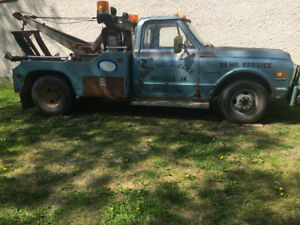 1972 Chevrolet C/K Pickup 3500 Tow Truck 396 Big Block
