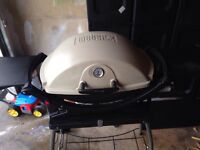 Weber portable grill all cleaned and ready to grill