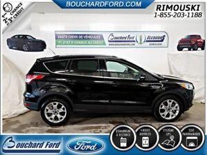 2016 Ford ESCAPE 2.0 L CERTIFIÉ TITANIUM