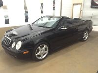 2002 Mercedes-Benz CLK-Class 430 Convertible 35$ week/semaine