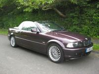 BMW 318 2.0 Ci Convertible Individual High Spec, Stunning Condition, 2 Owners