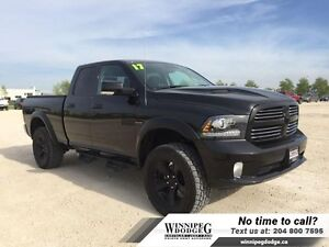 2017 Ram 1500 Sport Quad 4x4 *LIFT KIT  TIRES*
