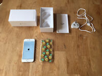 iPhone 6 64gb white and silver factory unlocked to any network