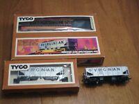 HO scale Hopper car unloading set