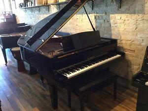 K.Kawai Grand ebony polish Piano. FREE DELIVERY!  Kitchener / Waterloo Kitchener Area image 1