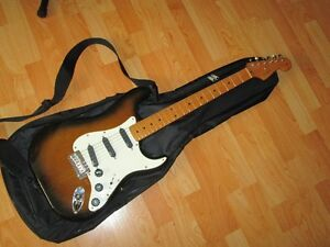 """Fender Stratocaster Partscaster! With Softcase!"""