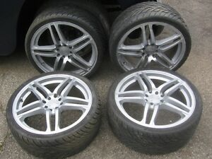 """18"""" ALLOY RIMS AND TIRES"""