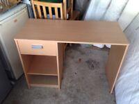 Small study desk.
