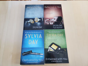 Crossfire book series by Sylvia Day