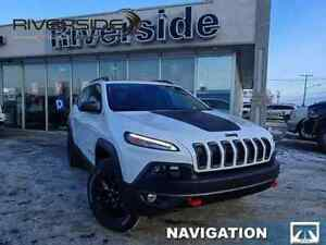2018 Jeep Cherokee Trailhawk Leather Plus - Sunroof