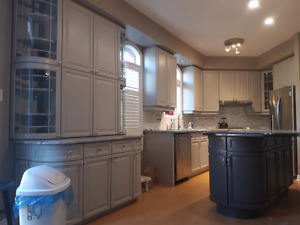 Kitchen Cabinets Toronto kitchen cabinet painting | painters & painting services in toronto