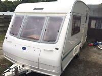 1997/98 2 berth Bailey ranger touring caravan