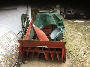 Wheel Horse snow blower