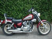 Yamaha XV125 VIRAGO CUSTOM CRUISER MOTORCYCLE