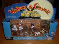 WALLACE&GROMIT THE CURSE OF THE WERE-RABBIT FIGURES
