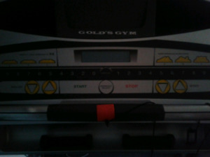 Gold's Gym Treadmill for sale