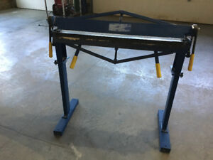 36 in. Metal Bending Brake with Stand