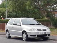 Volkswagen Polo 1.4 ( 75bhp ) 2000MY S, FULL MOT,LOW TAX,LOW INSURE