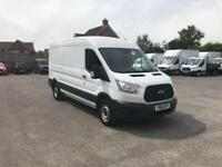 Ford Transit 2.2 Tdci 125Ps H2 Van EURO 5 DIESEL MANUAL WHITE (2016)