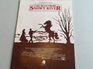 THE MAN FROM SNOWY RIVER – SELECTIONS FROM - MUSIC BOOK