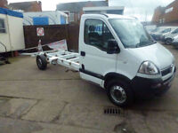 Vauxhall Movano 120ps LWB chassis cab 2009 ideal recovery 1 company owner