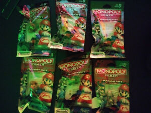 Mario Kart Monopoly Gamer Power Packs, unopened