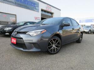 2014 Toyota CorollaLE-REAR CAM,HEATED SEAT,ALLOY,WARRANTY$12495