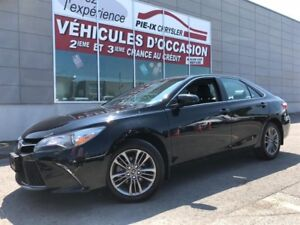 Toyota Camry SE+CUIR/TISSUS+MAGS+-WOW! 2017