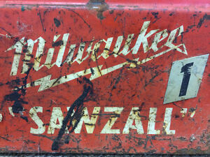 Antique Milwaukee Sawzall Reciprocating Saw