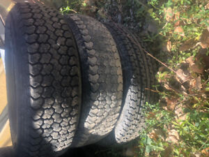 ST 205/75 14 Trailer tires- used