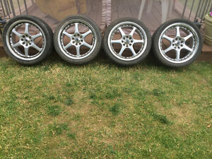 Rims and tires $500 obo