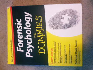FOR DUMMIES Forensic Psychology (Used-Very Good)
