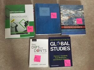 Lightly Used Textbooks