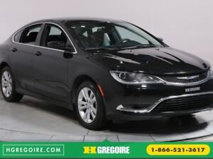2016 Chrysler 200 Limited AC/MP3 BLUETOOTH