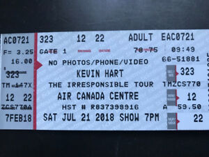 2 Kevin Hart Tickets for July 21!