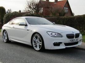 2013 BMW 6 Series 640d M SPORT 2DR AUTO TURBO DIESEL COUPE ** 84,000 MILES * ...
